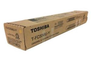 Toshiba T-FC556UY Yellow OEM Genuine Toner Cartridge for 5506AC