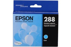 Epson T288220 Cyan OEM Genuine Ink Cartridge for XP-446 XP-430