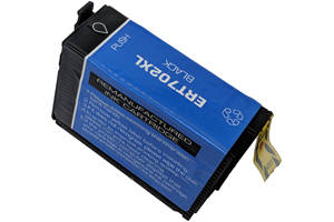 Epson T702XL120 Black Compatible Ink Cartridge for WF-3730 WF-3720