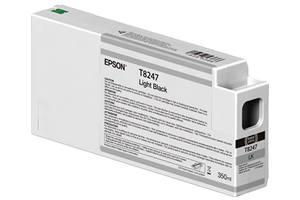 Epson T824 T824700 Light Black OEM Genuine Ink Cartridge for P6000