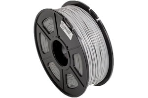 ABS Grey Filament 1.75mm 1kg Supply Spool for 3D Printer