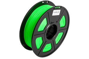 ABS Noctilucent Green Filament 1.75mm 1kg Supply Spool for 3D Printer