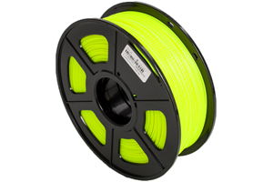ABS Noctilucent Yellow Filament 1.75mm 1kg Supply Spool for 3D Printer