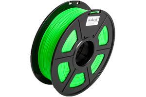 PLA Noctilucent Green Filament 1.75mm 1kg Supply Spool for 3D Printer