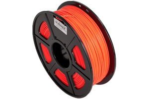 PLA Noctilucent Red Filament 1.75mm 1kg Supply Spool for 3D Printer