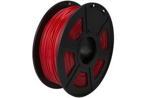 TPU Flexible Red Filament 1.75mm 0.5kg Supply Spool for 3D Printer