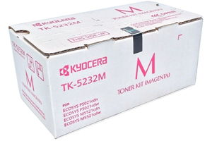 Kyocera Mita TK-5232M Magenta [OEM] Genuine Toner Cartridge
