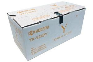 Kyocera Mita TK-5242Y Yellow [OEM] Genuine Toner Cartridge