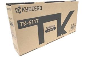 Kyocera TK-6117 Black OEM Genuine Toner Cartridge for M4125idn M4132id