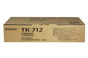 Kyocera Mita TK-712 TK712 [OEM] Genuine Toner Kit for FS-9130 9530
