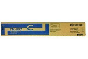 Kyocera Mita TK-897C Cyan [OEM] Genuine Toner Cartridge