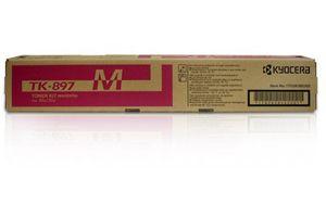 Kyocera Mita TK-897M Magenta [OEM] Genuine Toner Cartridge