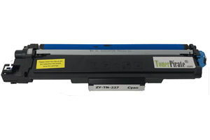 Brother TN-227C High Yield Compatible Cyan Toner Cartridge w/Chip
