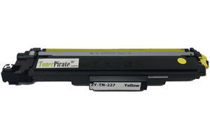 Brother TN-227Y High Yield Compatible Yellow Toner Cartridge w/Chip