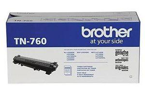 Brother TN-760 [OEM] Genuine Toner Cartridge for HL-L2350 HL-L2370DW