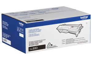 Brother TN-880 OEM Genuine Super High Yield (12K) Toner Cartridge