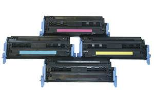 HP Q6000A/01A/02A/03A Black & Color Toner Set for LaserJet 1600 2600