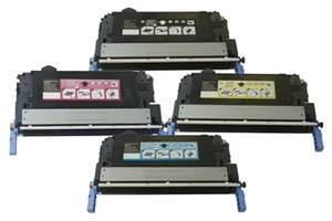 HP Q6460A/61A/62A/63A Black & Color Toner Set for LaserJet 4730 CM4730