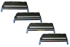 HP C9730A/1A/2A/3A 645A Black & Color Toner Set for LaserJet 5500 5550