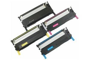 CLP-325 Black & Color Toner Set for Samsung CLP-320N 325W CLX-3185FW
