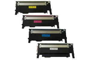 CLP-365 Black & Color Toner Set for Samsung CLP-365W CLX-3305FW C410W