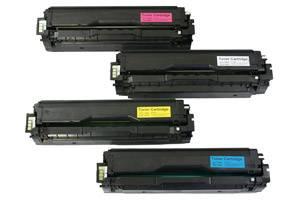 CLP-415 Black & Color Toner Combo Set for Samsung CLP-415 CLX-4195