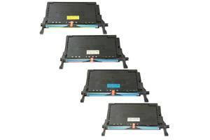 CLP-670 Black & Color Toner Combo Set for Samsung CLP-620ND CLP-670N