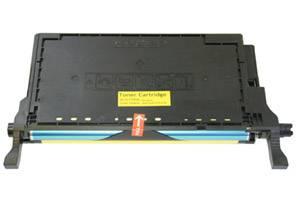 CLT-Y508L Yellow Toner Cartridge for Samsung CLP-620 CLP-670 Printers
