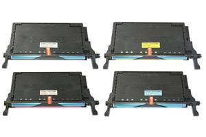 CLP-770 High Yield Black & Color Toner Combo Set for Samsung CLP-770ND