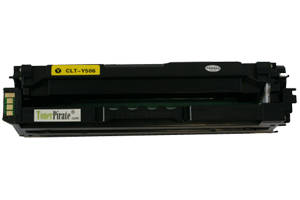 CLT-Y506L Yellow High Yield Toner Cartridge for Samsung CLP-680 680ND