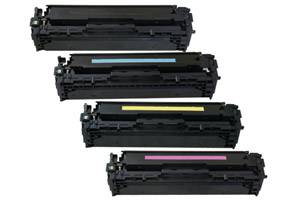 HP CE320A/21A/22A/23A 128A Black & Color Toner Set for LaserJet CM1415
