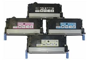 HP CB400A/01A/02A/03A Black & Color Toner Set for LaserJet CP4005