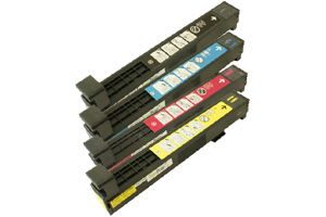 HP 823A Black & Color Toner cartridges for Color LJ CP6015 Printers