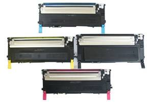 Dell Black & Color Toner Combo Set for 1230 1230c 1235 1235cn Printer
