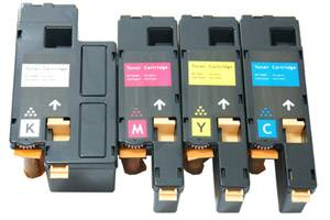 Dell Black & Color Compatible Toner Cartridge Combo Set for c1660w