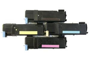 Dell Black & Color High Yield Toner Combo Set for 2130CN Laser Printer