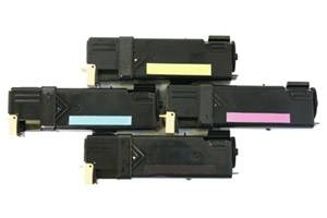 Dell Black & Color High Yield Compatible Toner Combo Set for 2150 2155