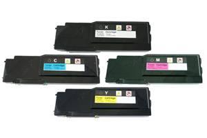 Dell C2660 C2665dnf Black & Color Compatible Toner Cartridge Combo Set