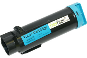 Dell P3HJK Cyan Compatible High Yield Toner Cartridge - 593-BBOX