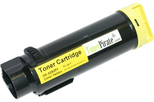 Dell 3P7C4 Yellow Compatible High Yield Toner Cartridge - 593-BBOZ