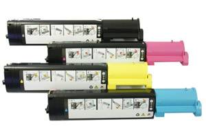 Dell Black & Color Toner Combo Set for 3010 3010CN Color Laser Printer