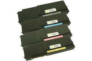 Dell Black & Color High Yield Compatible Toner Set S3840CDN S3845CDN