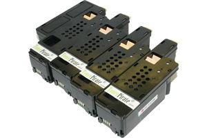 Dell Black & Color Toner Combo Set for E525W Color Laser Printer