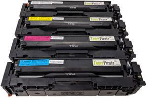 HP 204A Black & Color Toner Set for Color LaserJet M180 M181 M154