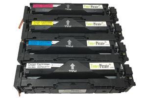HP 202X Black & Color Compatible Toner Set for Color LaserJet M280