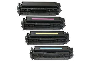 HP 312A Black & 312A Color Toner Set for LaserJet Pro M476 nw/dn/dw