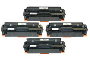 HP CF410X/11X/12X/13X Black & Color High Yield Toner Set for M452 M477