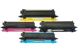 Brother TN-115 Black & Color Hi-Yield Toner Cartridge Combo Set