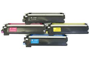 Brother TN-210 Black & Color Toner Combo Set for HL-3040CN MFC-9010CN