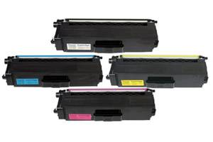 Brother TN-336 Black & Color High Yield Toner Cartridge Combo Set